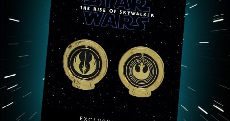 Star Wars The Rise of Skywalker Disney Movie Club Box Pins