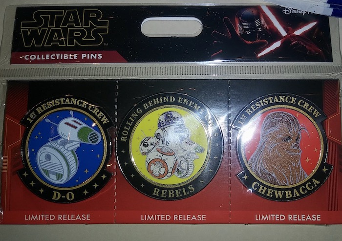 Star Wars The Rise of Skywalker Limited Release Pin Set