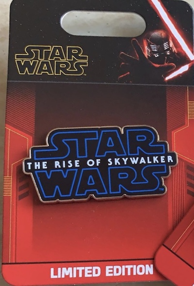 Star Wars The Rise of Skywalker Logo Pin