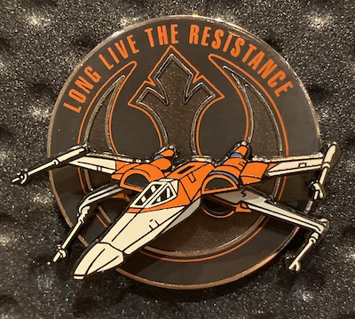 Star Wars The Rise of Skywalker X-Wing Pin