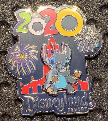 Stitch 2020 Disneyland Pin