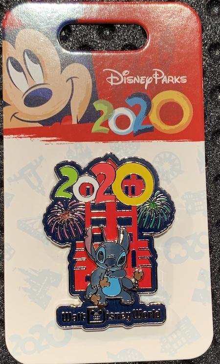 Stitch 2020 Walt Disney World Pin