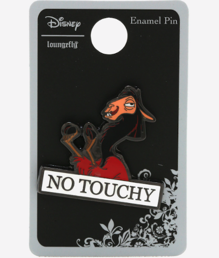 The Emperor's New Groove No Touchy Hot Topic Disney Pin