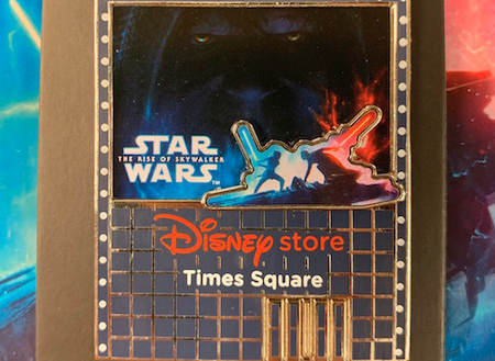The Rise of Skywalker Disney Store Times Square Pin