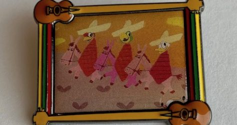 The Three Caballeros Disney Backstage Collection Pin