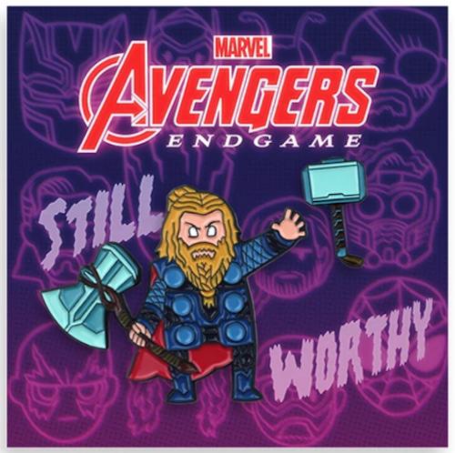 Thor Avengers Endgame Mondo Pin Set