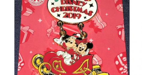 Tokyo Disney Resort Christmas 2019 Pins