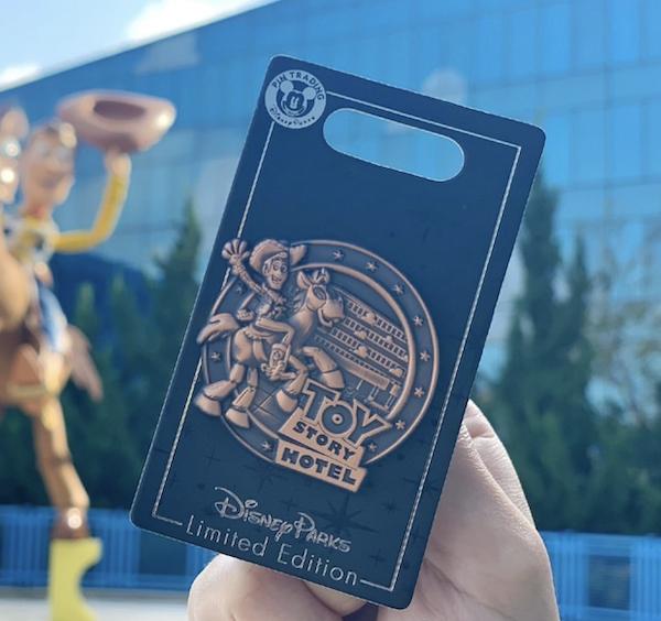 Toy Story Hotel Shanghai Disneyland Pin