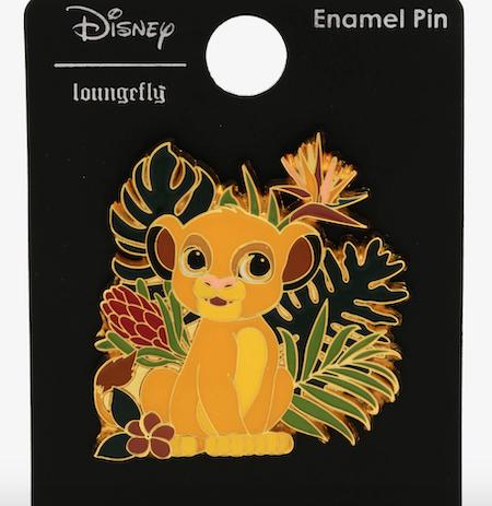 Tropical Simba Chibi BoxLunch Disney Pin