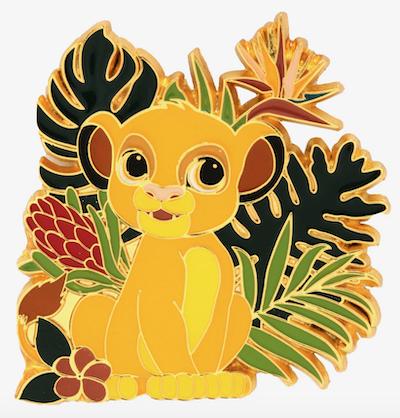 Tropical Simba Chibi Disney Pin
