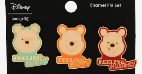 Winnie the Pooh Mood BoxLunch Disney Pin Set