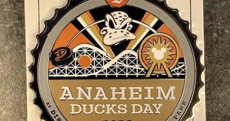 Anaheim Ducks Day 2020 Disney Pin