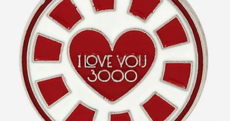 Avengers Endgame I Love You 3000 BoxLunch Marvel Pin