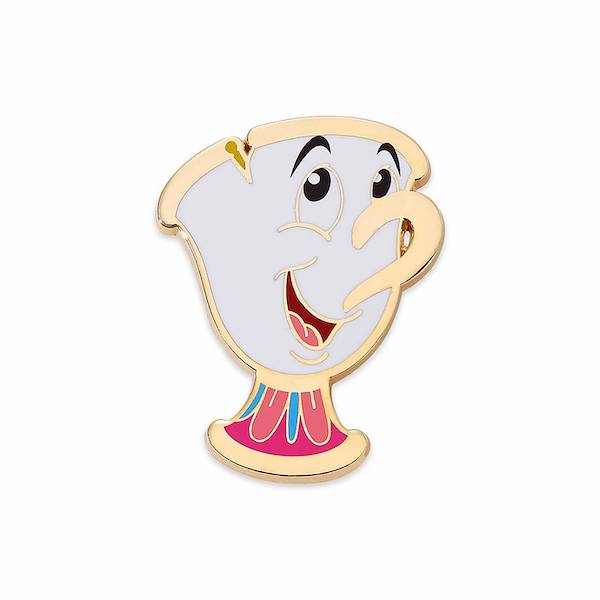 Beauty and the Beast Chip Disney Pin