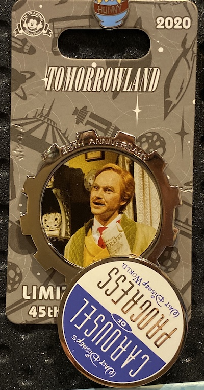 Carousel of Progress 45th Anniversary Pin