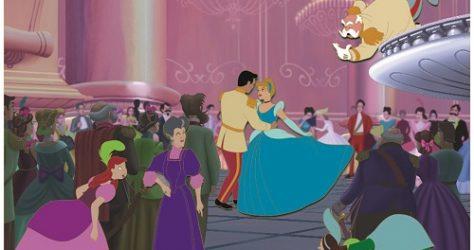 Cinderella 70th Anniversary Frame Pin Set