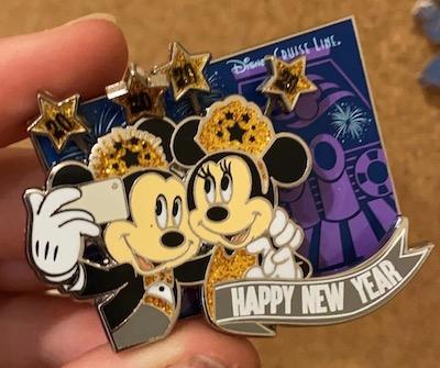 Disney Cruise Line Happy New Year 2020 Pin