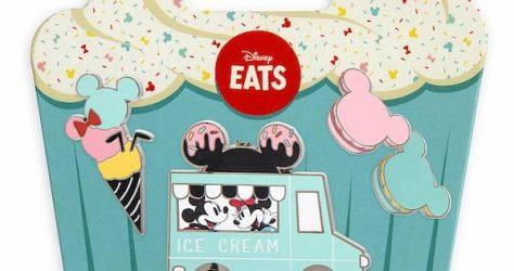 Disney Eats Pin Set