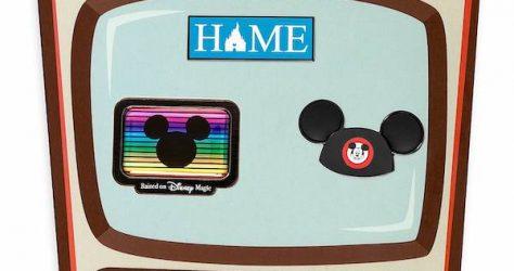 Disney Television Pin Set