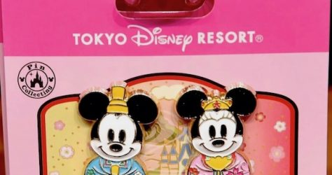 Doll's Day 2020 Tokyo Disney Pin Set