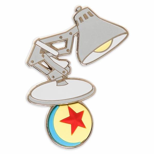 Luxo, Jr. and Pixar Ball Pin