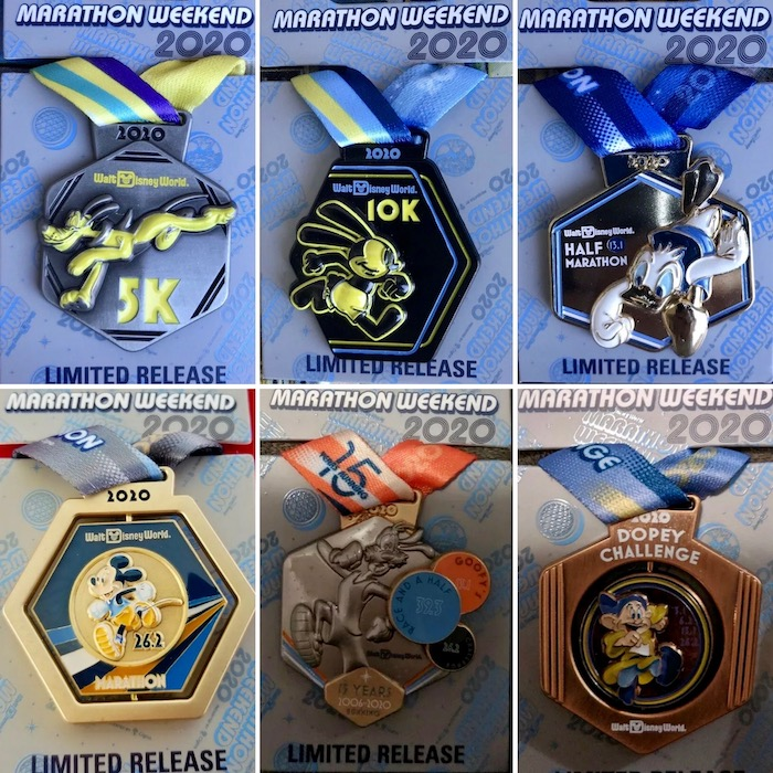 Medal Pins - Walt Disney World Marathon 2020