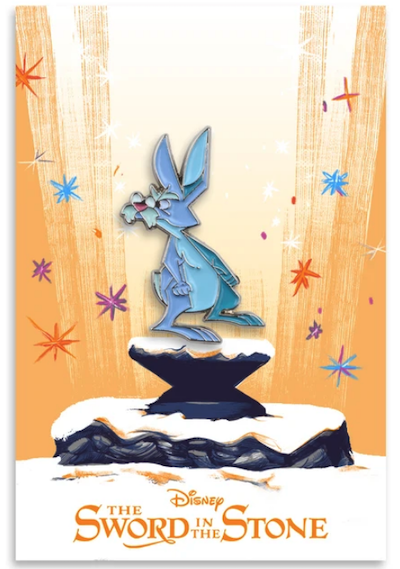 Merlin The Rabbit The Sword in the Stone Mondo Disney Pin