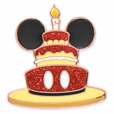 Mickey Mouse Birthday Cake shopDisney Pin