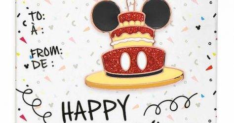 Mickey Mouse Happy Birthday shopDisney Pin