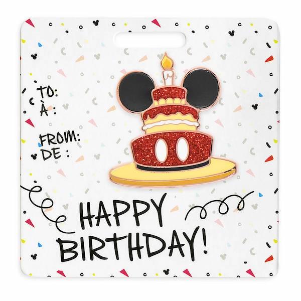 Mickey Mouse Happy Birthday shopDisney Pin