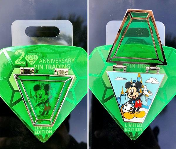 Mickey Mouse Pin Trading 20th Anniversary Pin