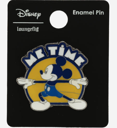 Mickey Yoga Me Time BoxLunch Disney Pin