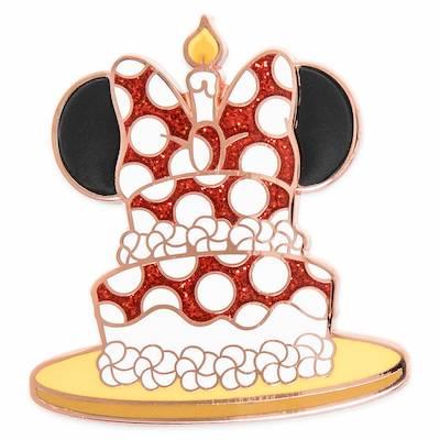 Minnie Mouse Birthday Cake shopDisney Pin