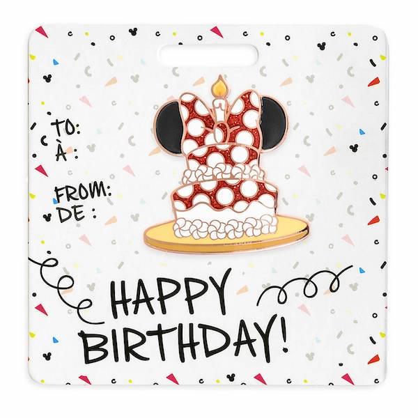Minnie Mouse Happy Birthday shopDisney Pin