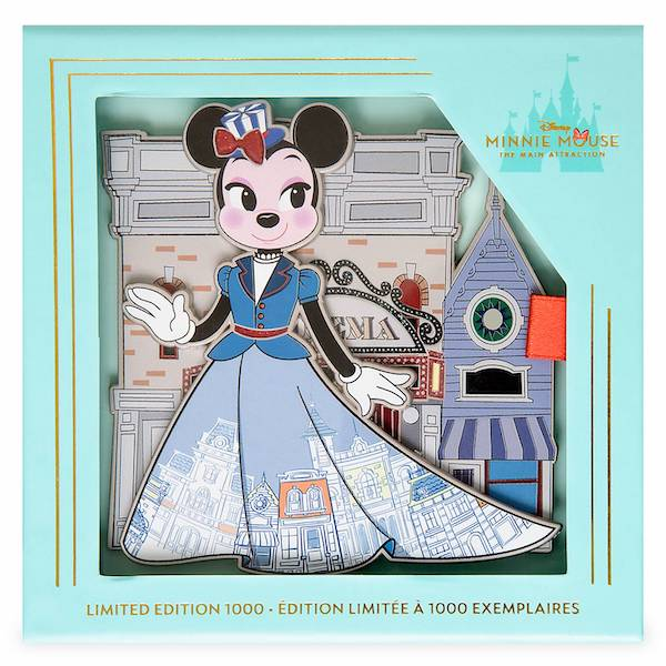 Minnie Mouse The Main Attraction Main Street USA Disney Rewards Cardmember Pin