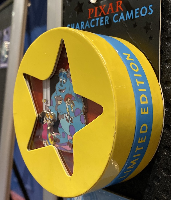 Monsters, Inc. Pixar Character Cameos Pin Box