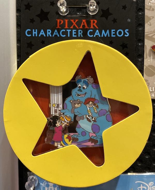 Monsters, Inc. Pixar Character Cameros Pin