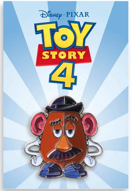 Mr. Potato Head Mondo Disney Pin