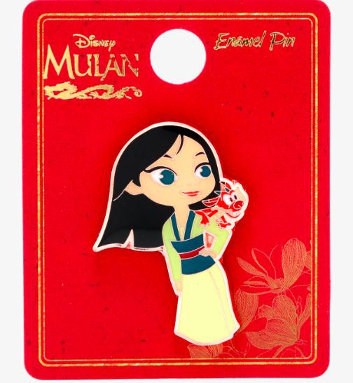 Mulan Chibi Hot Topic Disney Pin