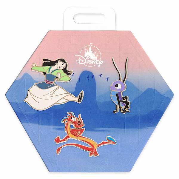 Mulan shopDisney Pin Set