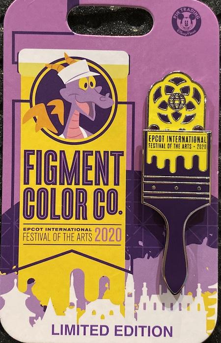Paintbrush Epcot Festival of the Arts 2020 Disney Pin