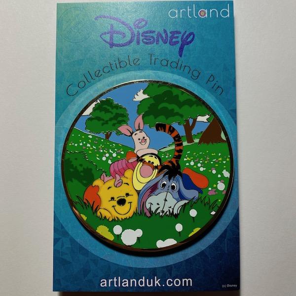 Peek A Pooh LE 250 ArtLand Disney Pin