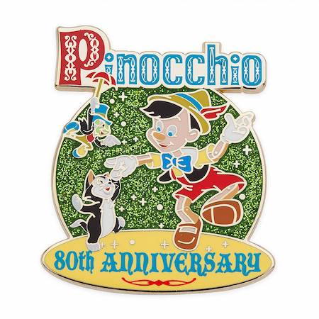 Pinocchio 80th Anniversary Limited Release Pin