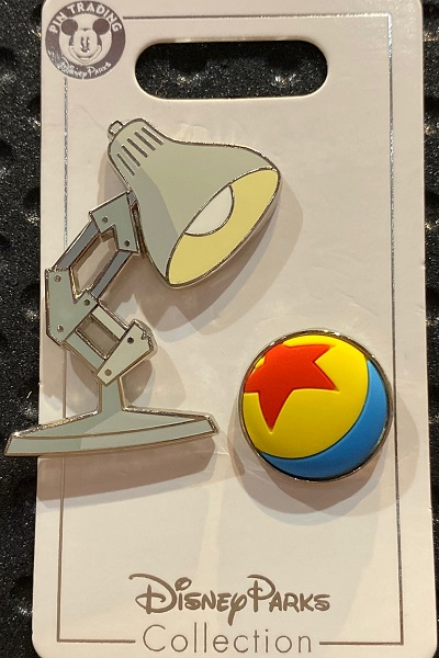 Pixar Luxo Disney Pin Set