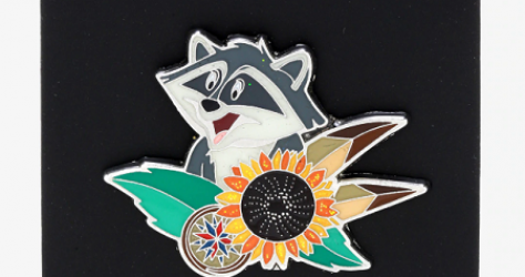 Pocahontas Meeko Hot Topic Disney Pin