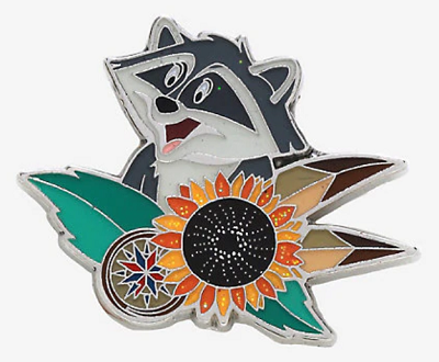Pocahontas Meeko Hot Topic Pin
