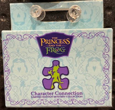 Princess and the Frog Character Connection Mystery Pin Set