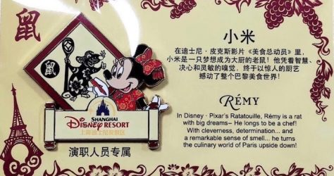 Shanghai Disney New Year 2020 Cast Member Pin