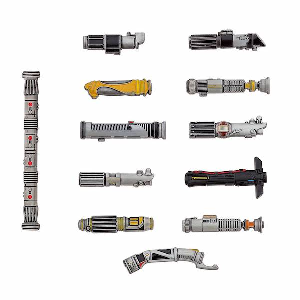 Star Wars Lightsaber Limited Edition Pin Set