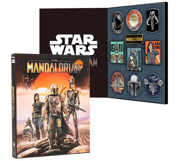 Star Wars The Mandalorian 10 Pin Set at Geek Store